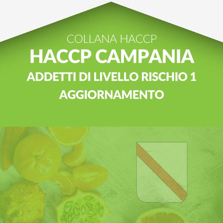 Corso in aula HACCP CAMPANIA - Addetti di livello rischio 1 AGGIORNAMENTO