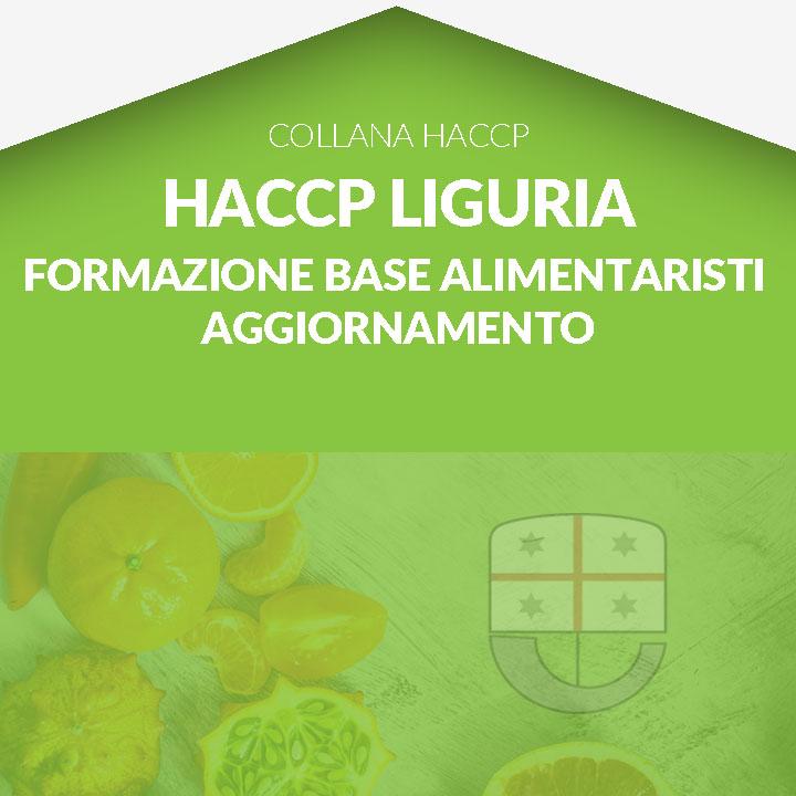 Corso in aula  HACCP LIGURIA - Formazione di base- Unità formativa A AGGIORNAMENTO